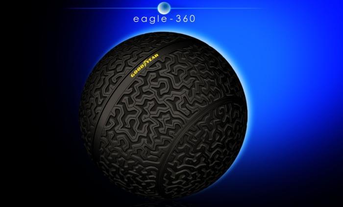 Шины Eagle-360 с магнитной левитацией.