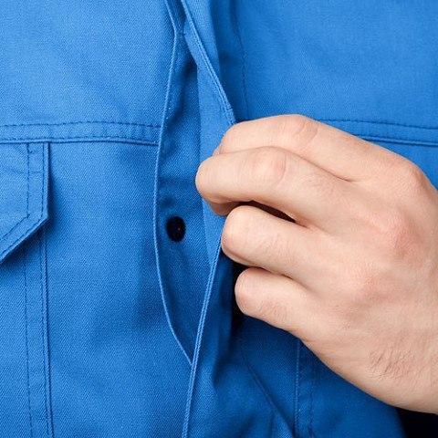 Выполнение потайных застёжек на пуговицах