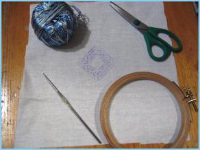 фото 2 - переносим узор на ткань