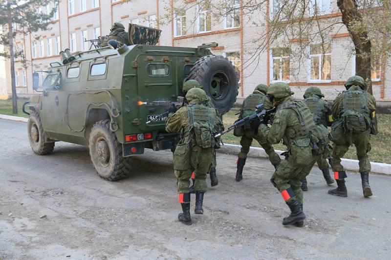 Силы специального назначения военной полиции ВС РФ