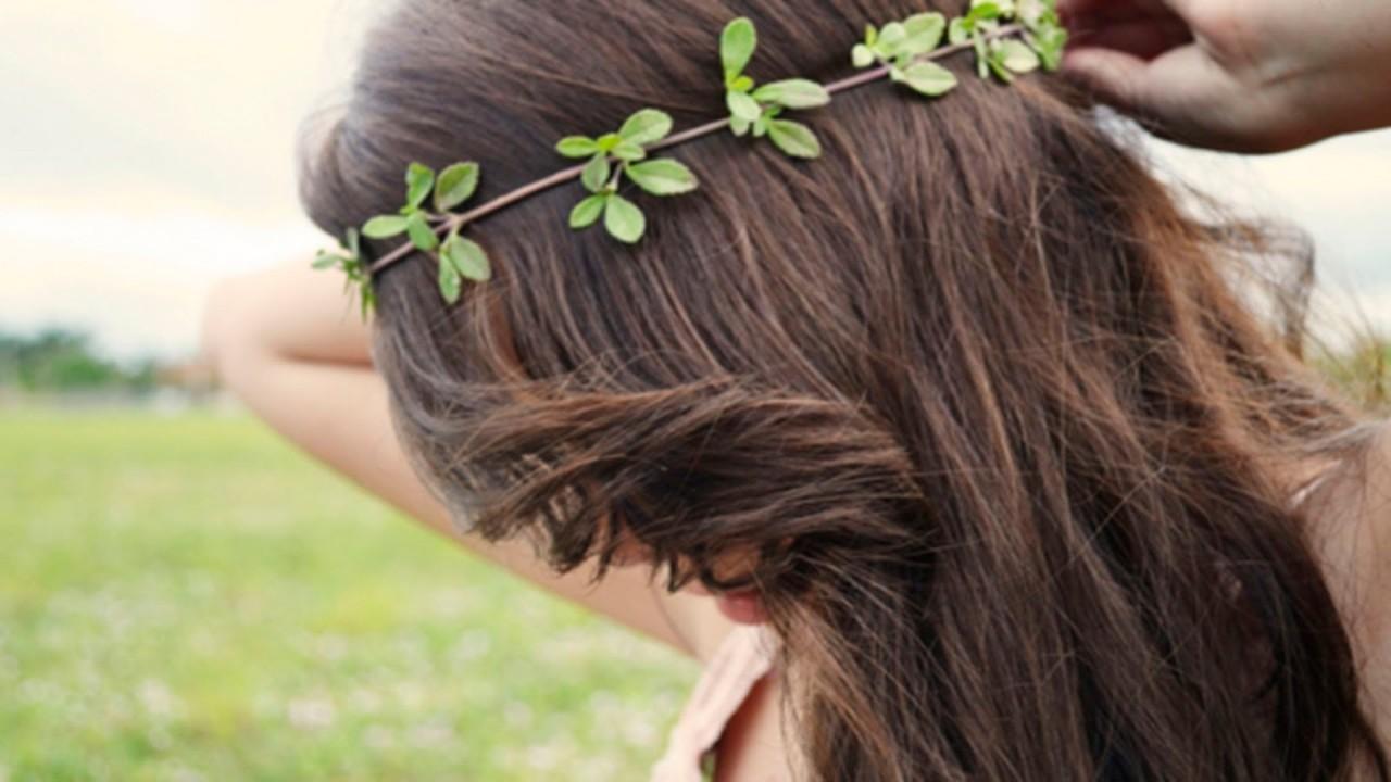 Натуральное средство для волос своими руками