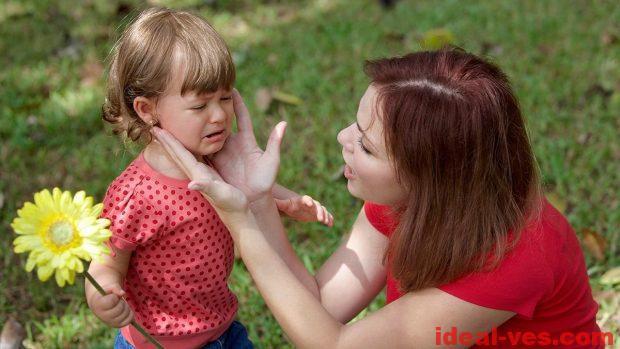 Нужно обнять ребёнка, дать понять, как сильно он любим