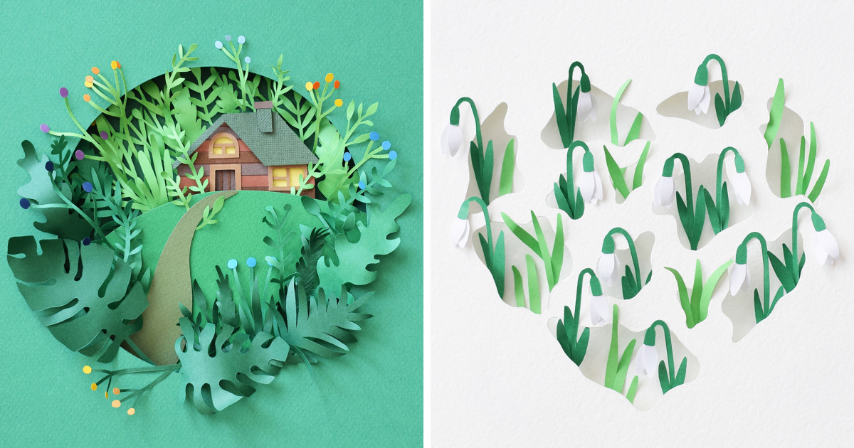 I Made Hundreds Of Paper Plants To Bring Spring Closer, Or Paper World