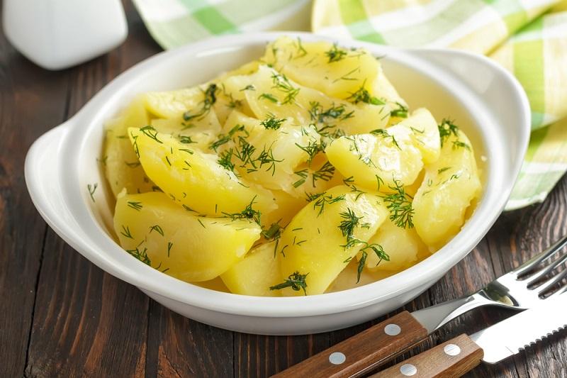 молодой картофель фото