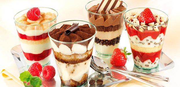 Десерты в стаканчиках: лучшие рецепты