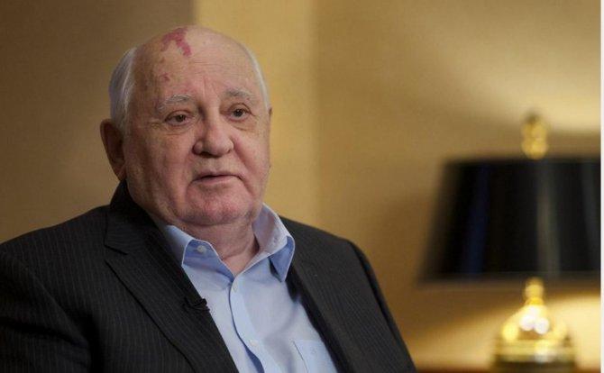 Горбачев призвал избавляться…
