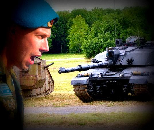 Как российский миротворец в Югославии с британским танкистом на руках боролся