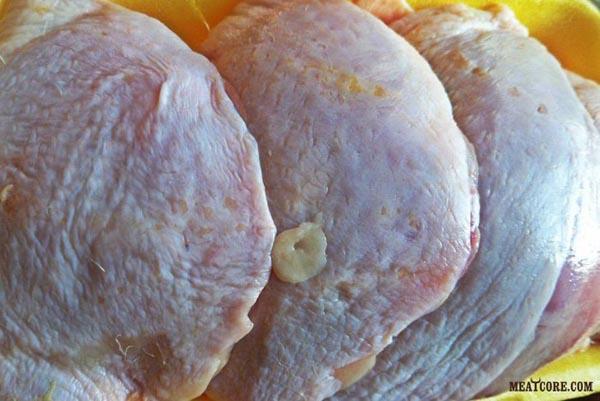 Курица запечённая