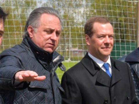 """Мутко заявил Медведеву, что """"в футболе мы порвём всех"""""""