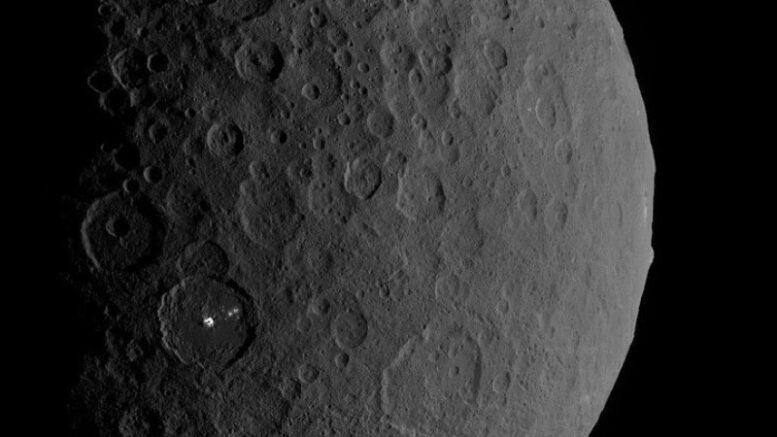 Искусственный интеллект обнаружил на Церере рукотворный объект