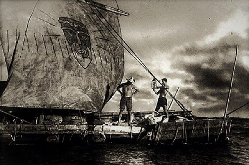 На маленьком плоту «Кон-Тики». Путешествие как первое мировое реалити-шоу «Кон-Тики», Тур Хейердал, день в истории, интересное, путешествие