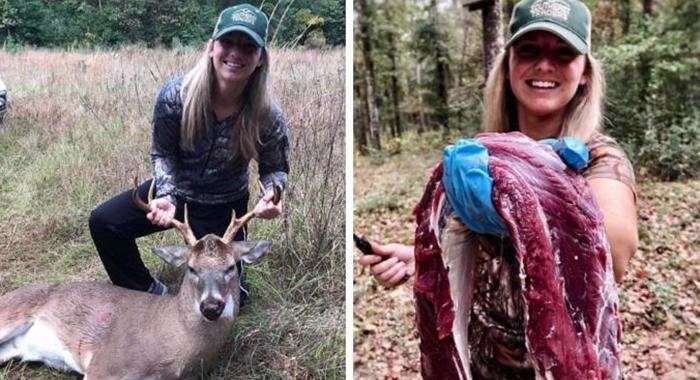 Девушка, которая любит охотиться и гордится этим