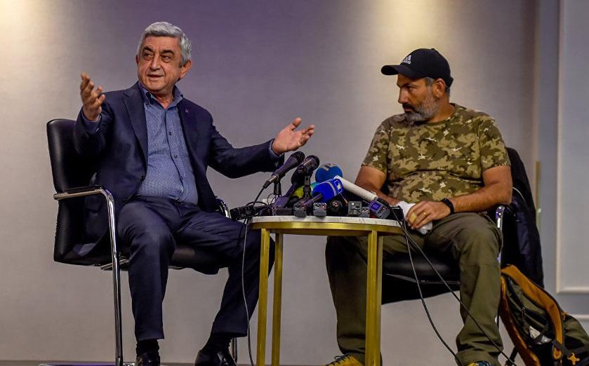 В Армении гасят бархатных революционеров