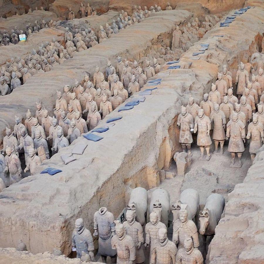 Музей терракотовых воинов и лошадей (Сиань, Китай)