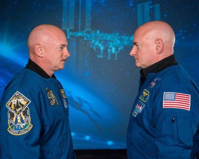 Вот так изменились братья-близнецы, один из которых год провел в космосе
