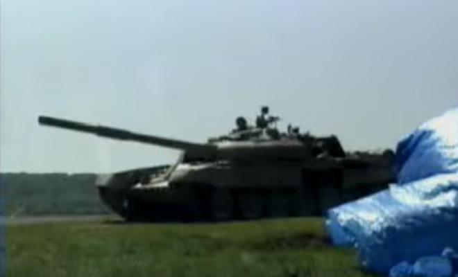 Джавелин против Т-72: выстрел засняли на видео