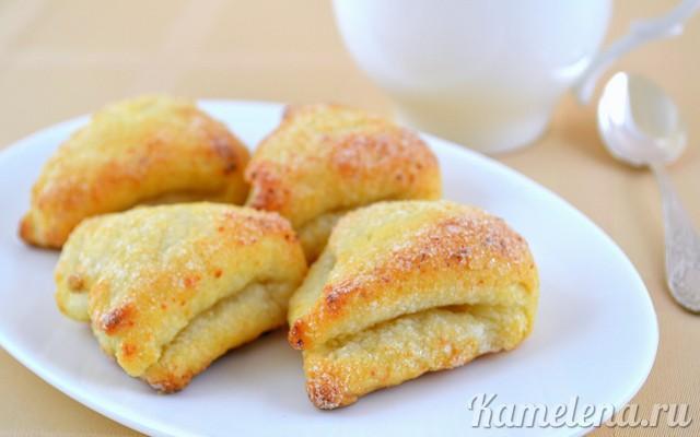 Творожное печенье рецепт ушки