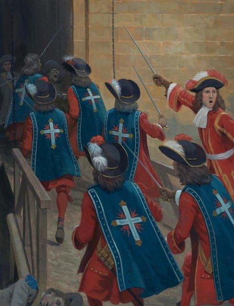 Кем были королевские мушкетеры на самом деле