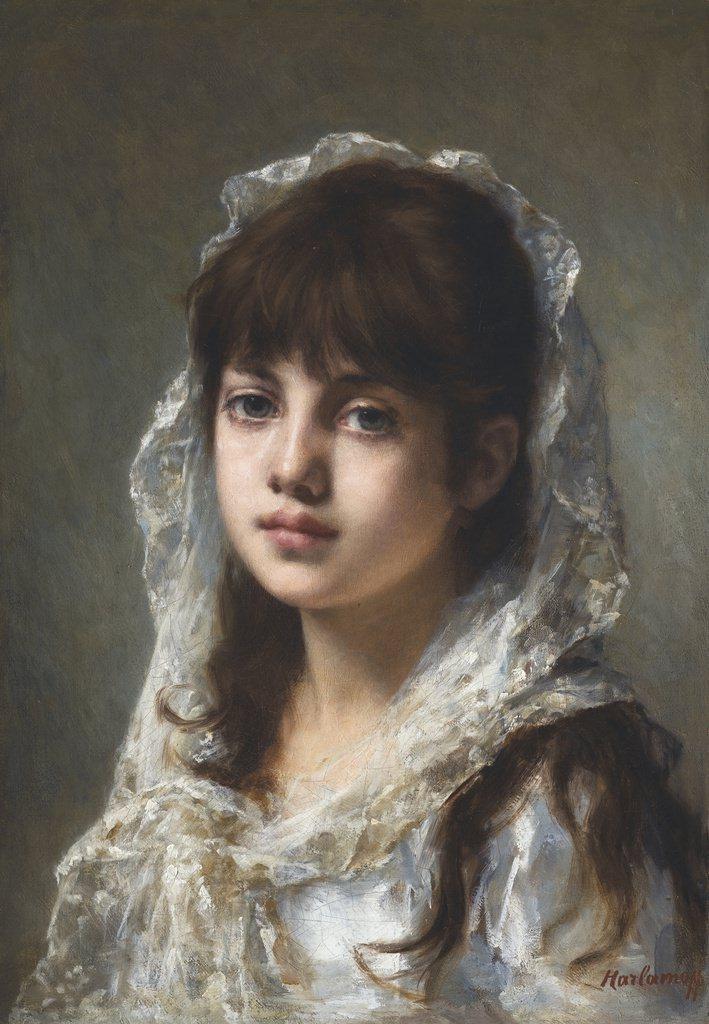 Портретное творчество русского художника Алексея Харламова