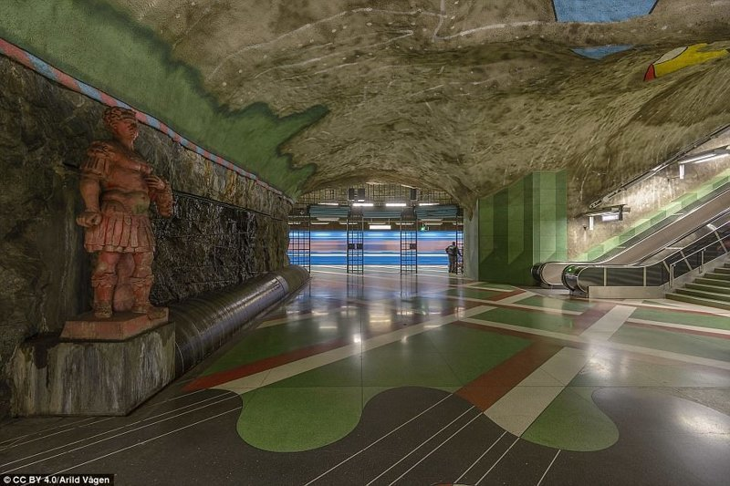Kungsträdgården галерея, метро, метрополитен, метрополитены мира, подземка, стокгольм, художественная выставка, швеция