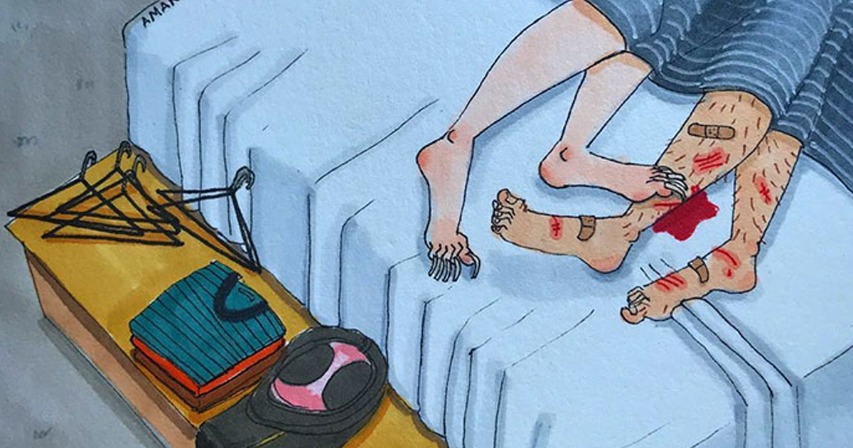 Artist Reveals The Unspoken Side Of Every Relationship