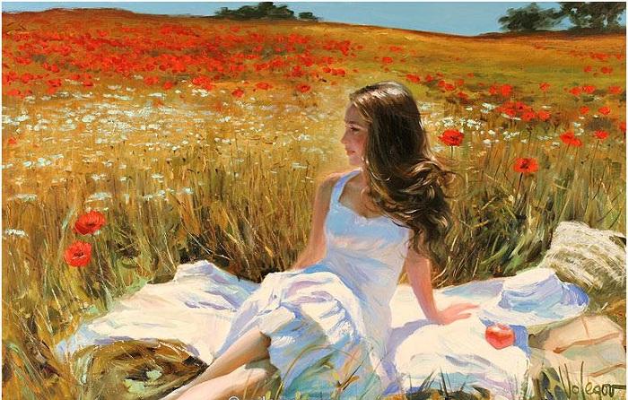 Солнечная живопись романтика Владимира Волегова