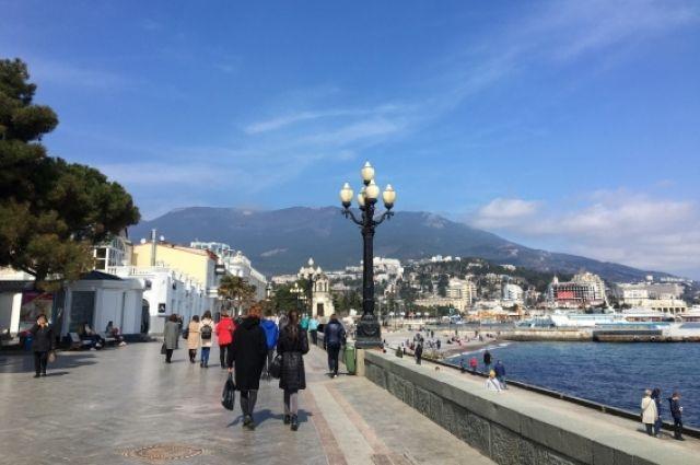 Введение курортного сбора в Крыму отложено на год