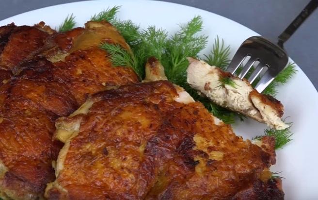 Рецепт очень вкусных куриных отбивных в ароматнейшем маринаде!
