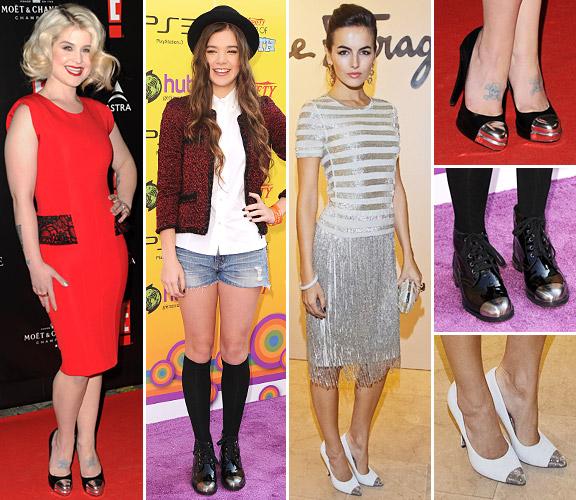 Подковали: металлический носок – новый обувной тренд 2017