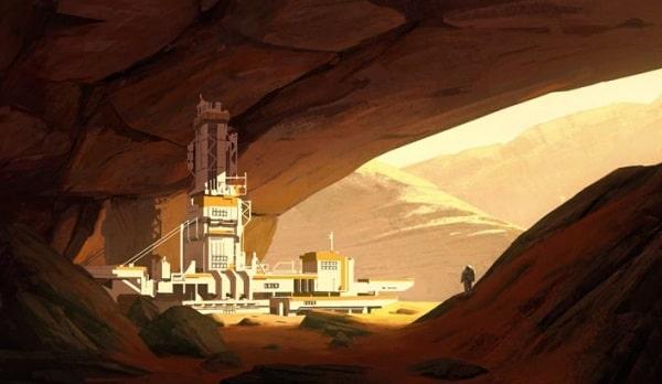 Летающие дроны помогут с колонизацией Марса