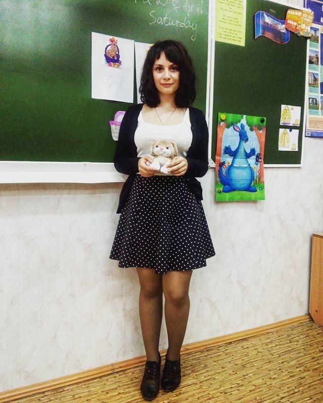 учительницы у доски в юбках фото