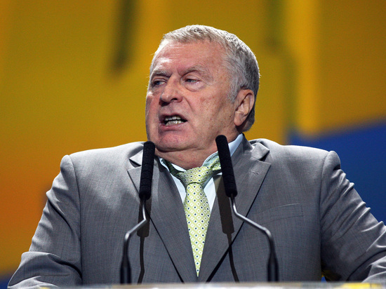 """Жириновский решил засудить Барбару Брыльску за """"идиота"""""""