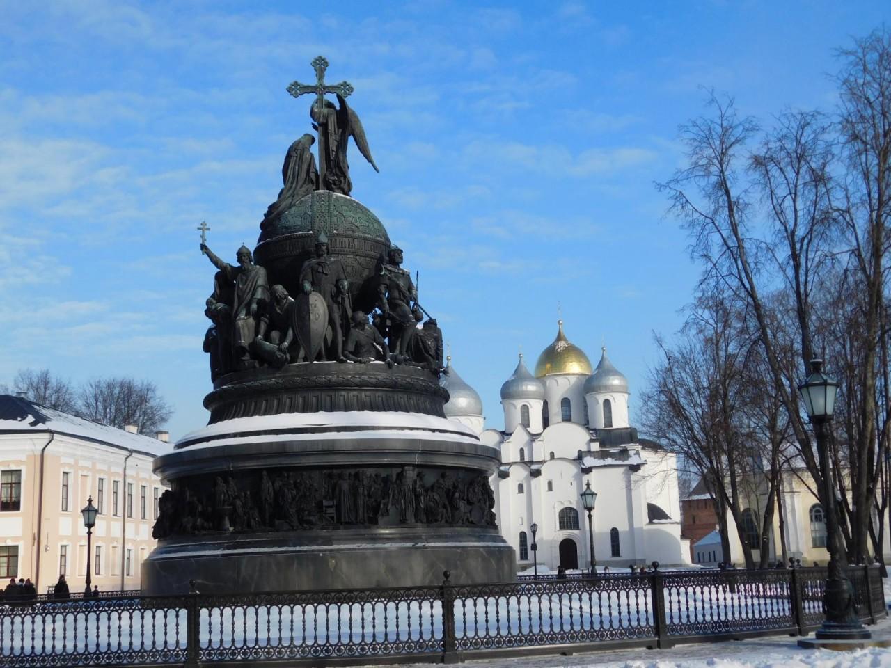Господин Великий Новгород зимой. День 1-й. Часть 1.