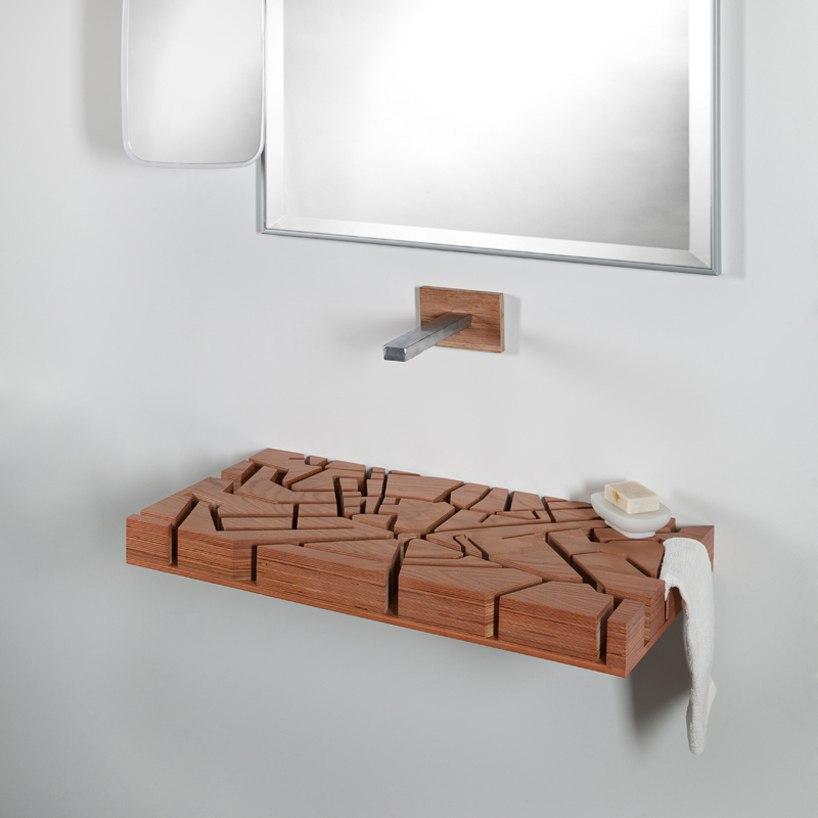 Оригинальные раковины из дерева