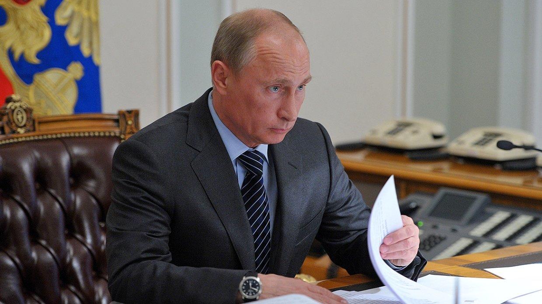 Путин ввел уголовную ответст…