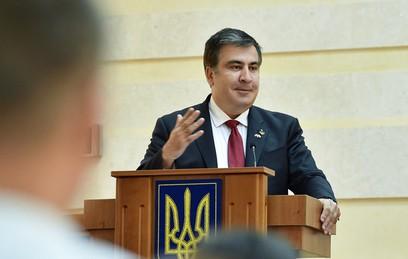 Саакашвили объявил о намерении сменить власть на Украине