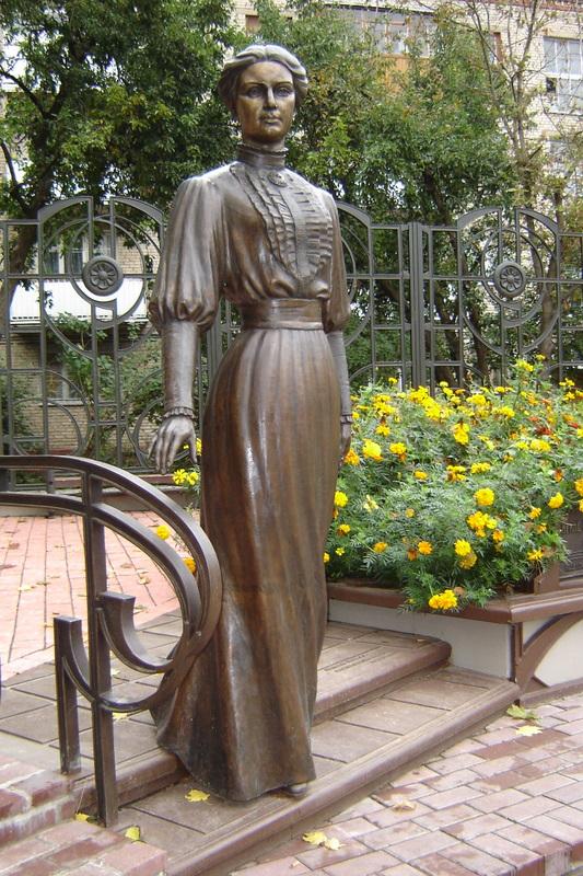 Памятник княгине Ирине Паскевич в Гомеле