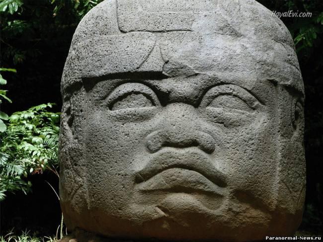 Тайна гигантских голов ольмеков