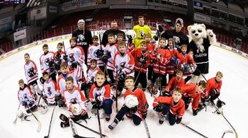 Юные хоккеисты побывали в гостях у «Трактора»