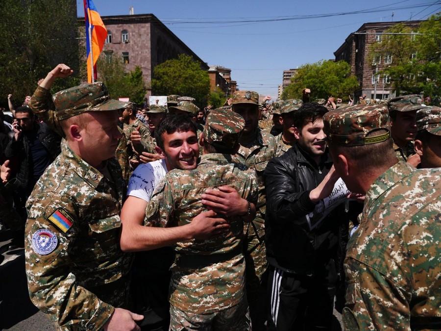 Армения хочет трусики и в ЕС
