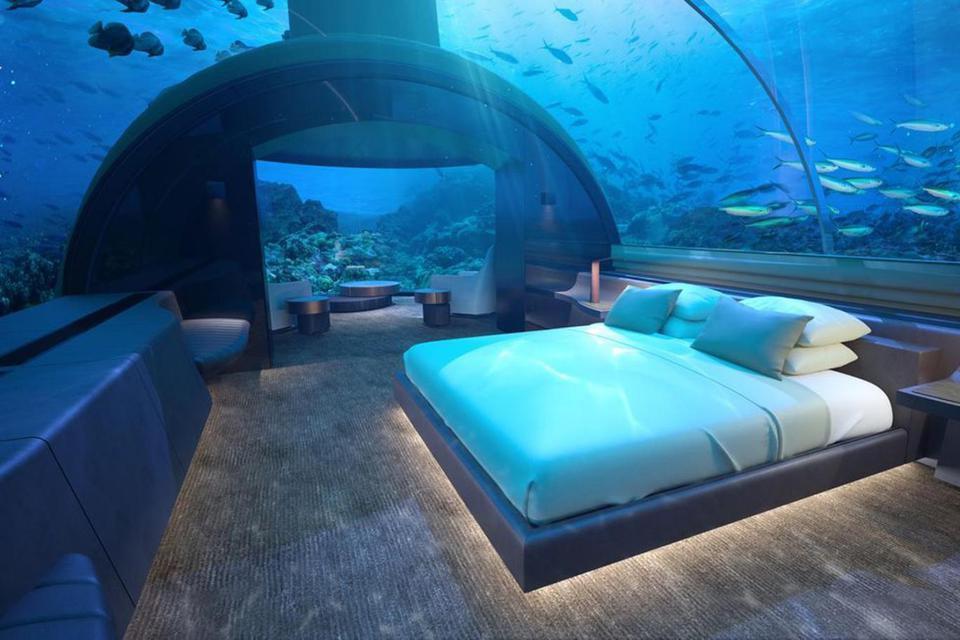 Подводный отель откроют на Мальдивах