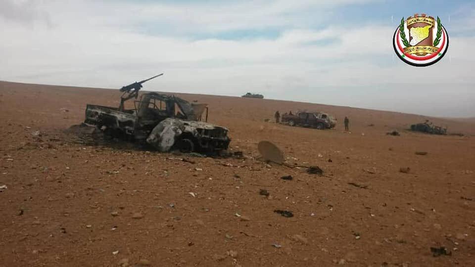 Разгром банды ИГИЛ в провинции Хомс
