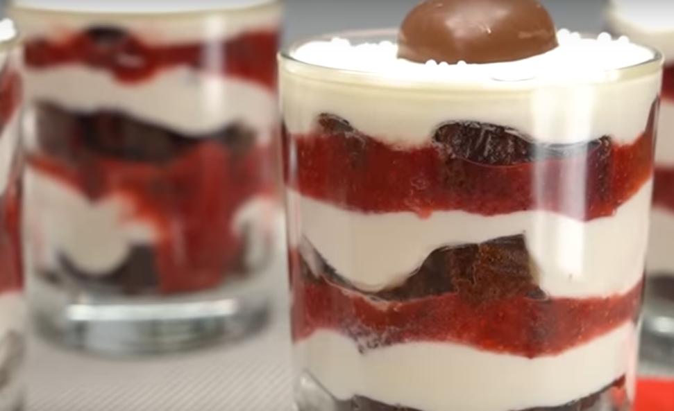 """Вкуснейший десерт """"Трайфл"""" - готовим ко дню влюбленных"""