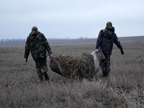Весенняя охота на гусей в полях и на перелетах