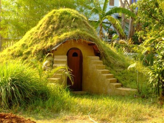 Как построить земляной купол из мешков за 6 шагов