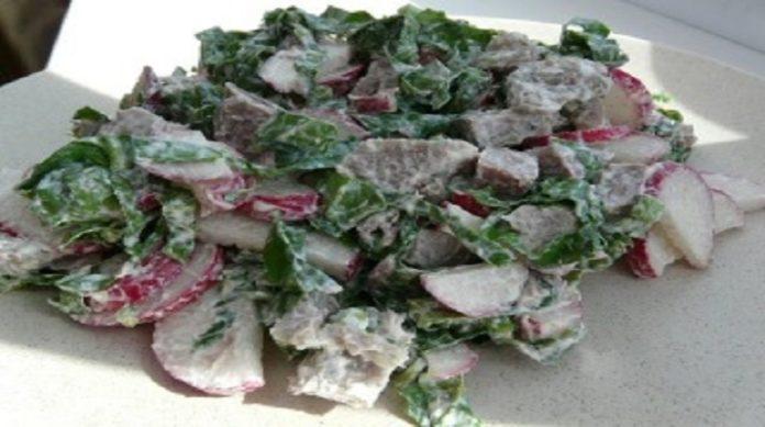 Самый вкусный салат без майонеза