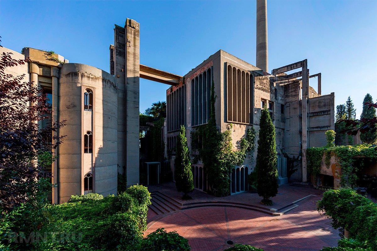 Стиль лофт: дом и офис в бывшей цементной фабрике