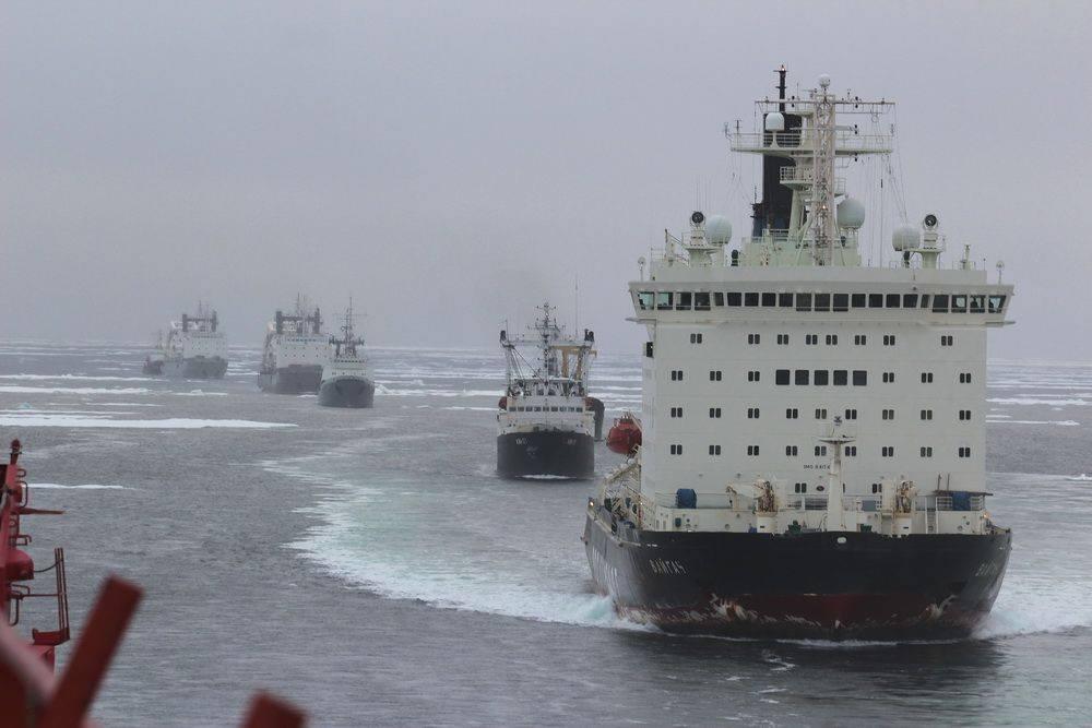 Пора пресечь покушения на русскую Арктику