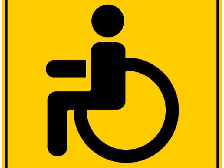 скорость со знаком инвалид