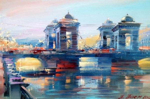Санкт-Петербург глазами современных художников
